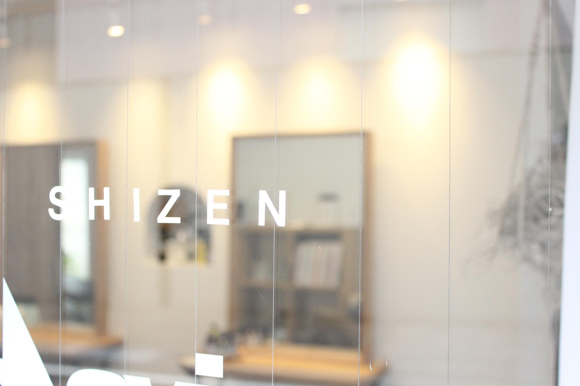 SHIZEN 美容室外観